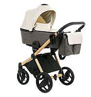 Детская коляска Invictus V-Plus Brown на шасси Wood, фото 1
