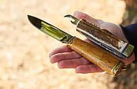 Нож охотничий Скиннер 2 ручной работы, с кожаным чехлом в комплекте, солидный подарок мужчине