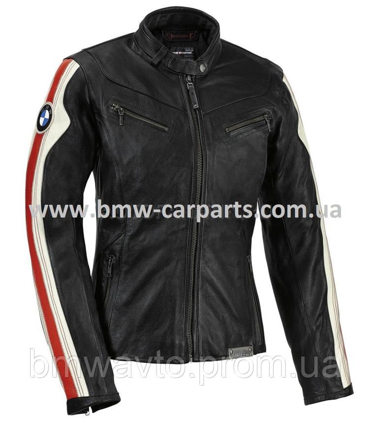 Женская кожаная мотокуртка BMW Motorrad Club Leather Jacket, фото 2