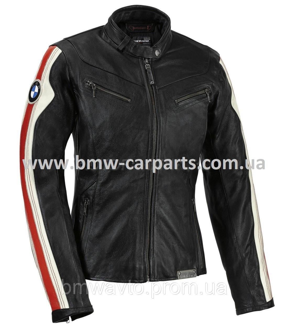 Женская кожаная мотокуртка BMW Motorrad Club Leather Jacket