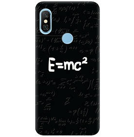 Чехол на Xiaomi Redmi Note 6 Pro Einstein