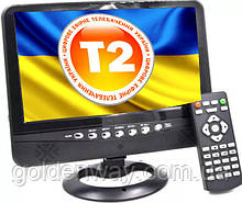 Автомобильный портативный телевизор OPERA 9,8 дюймов с Т2  LCD цветной монитор CPA