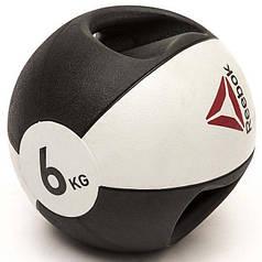 Медбол Reebok Double Grip Med Ball RSB-16126 - 6 кг