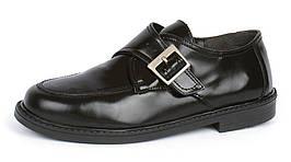 Туфли монки черные лакированная кожа JD Mod.Dep Германия Оригинал, Черный, 38