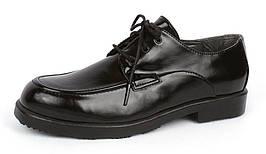 Туфли черные на шнуровке лакированная кожа net.Shoes Германия