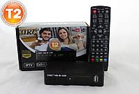 TV тюнер Т2 приемник для цифрового ТВ, DVB-Т2 UKC тв тюнер, т2 приставка 12 Вольт для автомобиля, фото 1