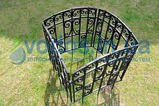 Заборчик садовый декоративный пластиковый - Большой, фото 3