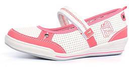 Туфли балетки на девочку с супинатором Walker розовые Польша, Розовый, 36