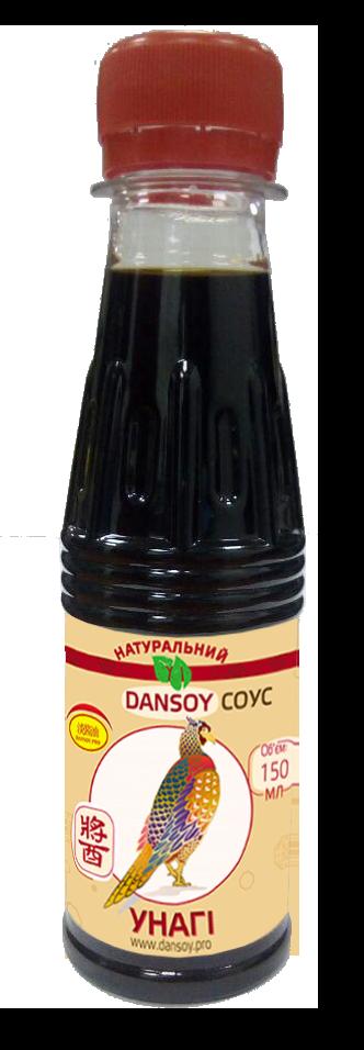 """Соус """"DanSoy"""" Унагі 🦑Unagi, 150 мл, пластик"""
