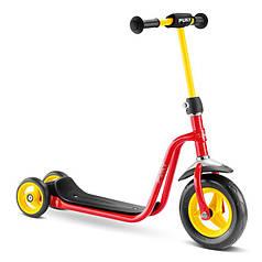 Самокат Puky R1 красный с желтым