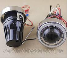 """Монолинзы ПТФ 1,8"""" c галогенными лампами, фото 2"""