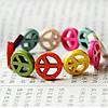 Браслет Мир / разноцветный пластик / Китай