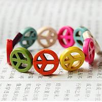 Браслет Мир / разноцветный пластик / Китай, фото 1