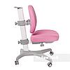 Комплект парта Colore Grey + подростковое кресло для дома Bello I Pink FunDesk , фото 3