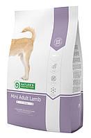 Корм Nature's Protection (Натур Протекшн) Mini Adult Lamb для взрослых собак малых пород с ягненком, 2кг