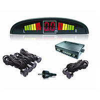 Автомобильный парктроник, Парковочный радар на 4 датчика с LED дисплеем, Акция