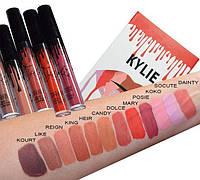 Набор жидких матовых помад Kylie (Кайли Дженнер), 12 штук, Акция