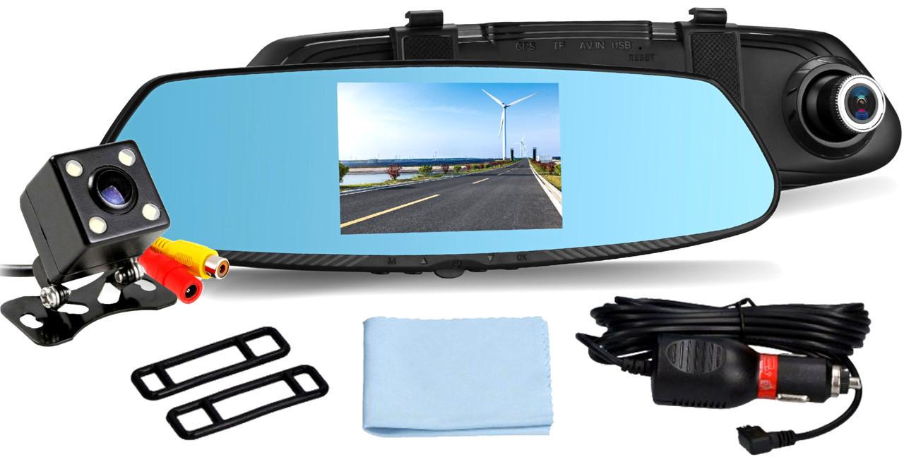 Зеркало видеорегистратор с камерой заднего вида DVR 1433EH