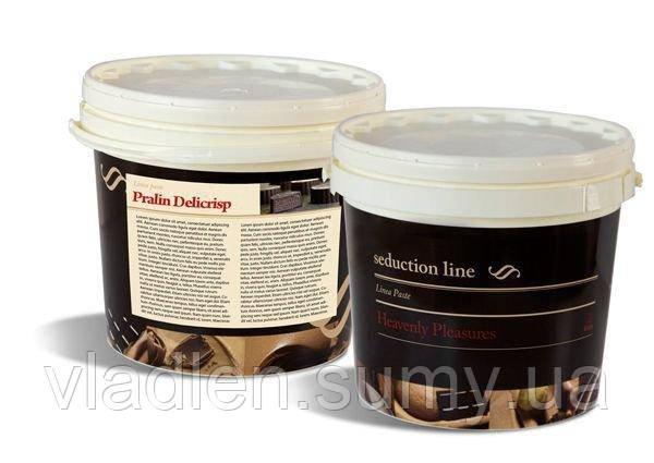 Пралине с фундуком, молочным шоколадом и криспами (PRALIN DELICRISP CLASSIC), IRCA, Италия (от 1 кг)
