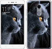 Чехол EndorPhone на Xiaomi Redmi Note 4 Красивый кот (3038m-352)