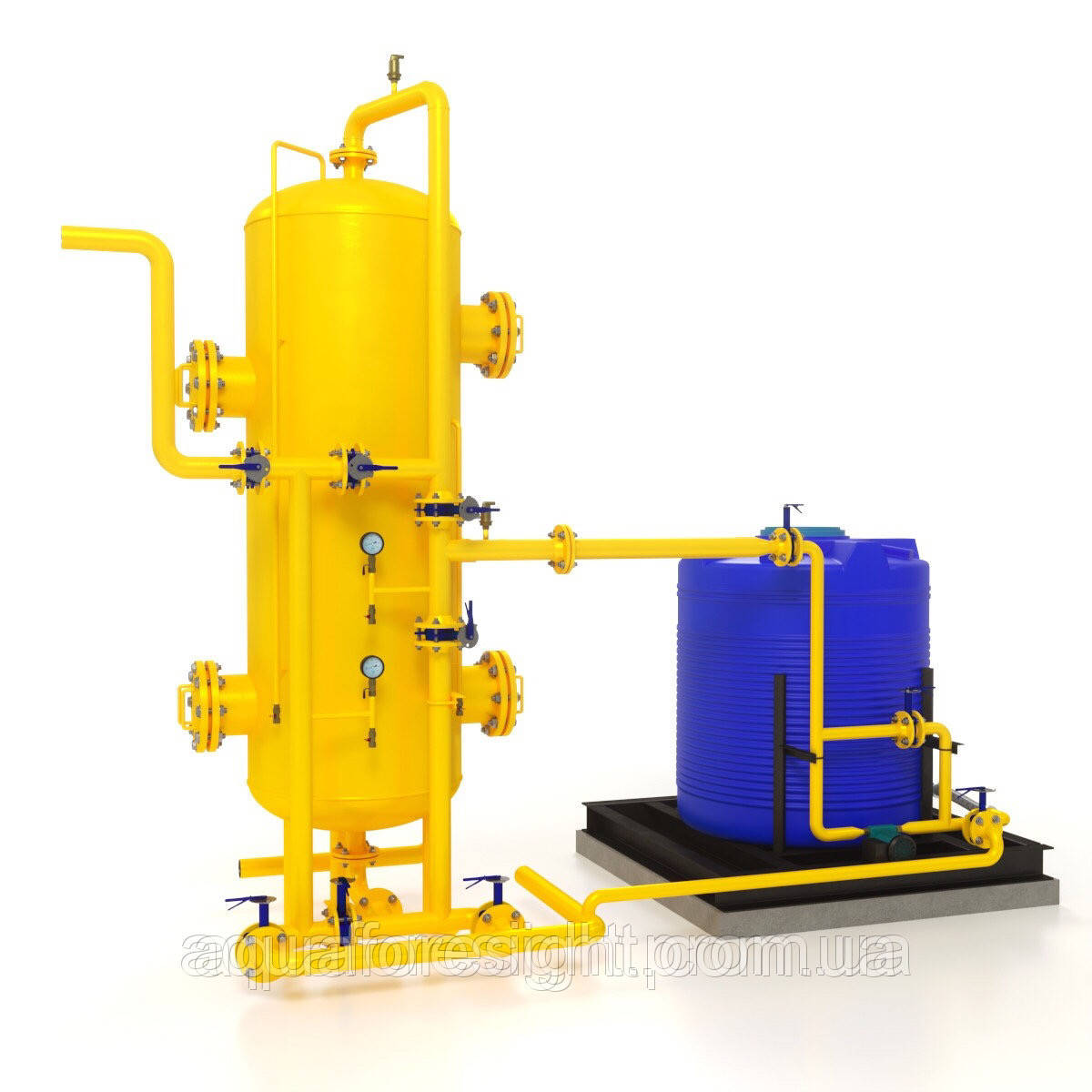 Деаэратор нетермический редокс-полимерный фильтр (RPF)