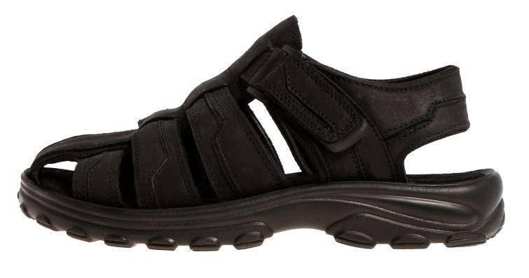 6246734ee206 Сандалии мужские кожаные черные на липучках 4Rest USA, Черный, 41, фото 2