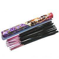 Благовония палочки Lavender Rose Musk Darshan  20 шт/уп. Аромапалочки Лаванда,роза,муск шестигранник.