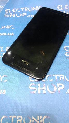 Модуль (дисплей + сенсор ) HTC 601 оригинал  б.у, фото 2