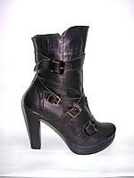 Ботиночки женские кожаные Д110