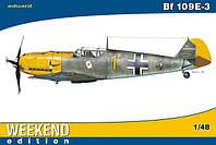 1:48 Сборная модель самолета Bf 109E-3, Eduard 84165
