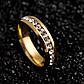 Обручальное кольцо с кристаллами код 747, фото 5