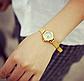 Наручные женские часы золотистого цвета код 152, фото 7