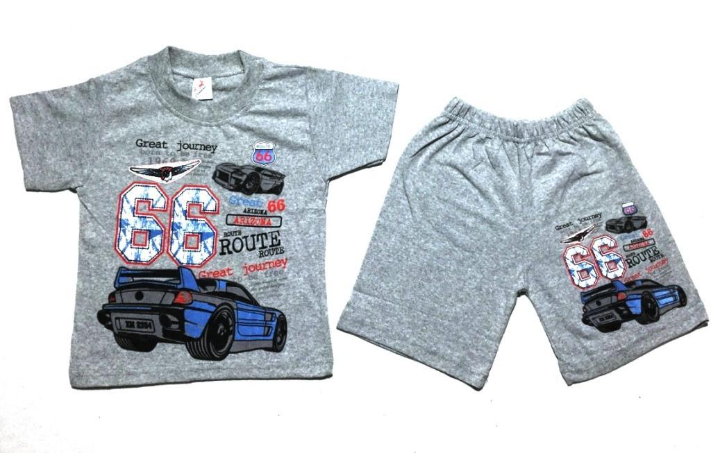 Костюм детский футболка + шорты на мальчика 4-8 лет