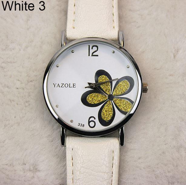Наручные часы женские с белым ремешком код 181