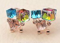 Серьги с кристаллами код 116     , фото 1