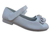 Туфли белые для девочки,28,35,36