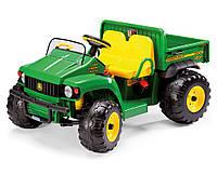 Двухместный внедорожник J.D. Gator, детский электромобиль Джон Дир с откидным кузовом