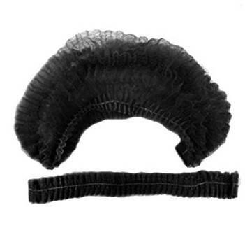Шапочки одноразовые черные, 100 шт., фото 2