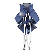 "Кресло ""Директор Лайт ""d19 мм серый-синий, фото 3"