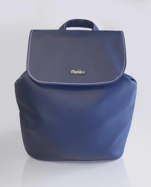 Женский синий рюкзак код 9-53