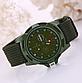 Мужские наручные часы с зеленым ремешком код 199, фото 2