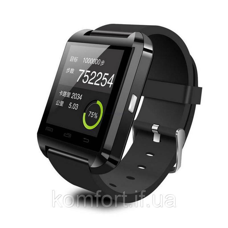Умные смарт-часы Smart Watch U8 Black
