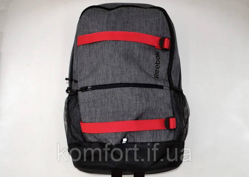 Городской рюкзак Reebok (replica) Серый