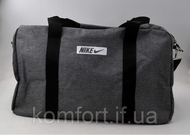 Сумка спортивная Nike (replica) Серый, фото 2