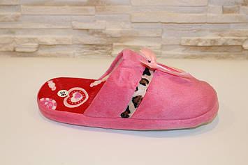 Тапочки кімнатні жіночі рожеві Тп34