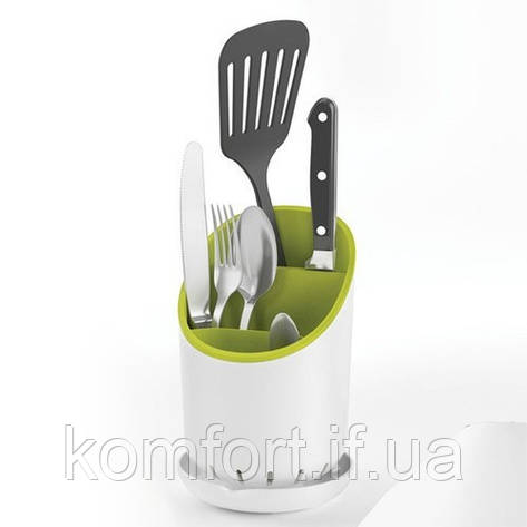 Подставка для кухонных приборов Cutlery Drainer and Organizer, фото 2