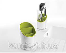 Подставка для кухонных приборов Cutlery Drainer and Organizer, фото 3