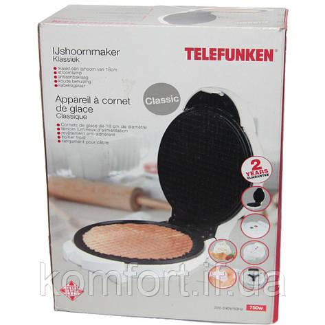 Вафельница «Telefunken» 750W, фото 2
