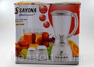 Блендер Sayona SZJ-Y44B (500 Вт / 1,5 л), фото 2