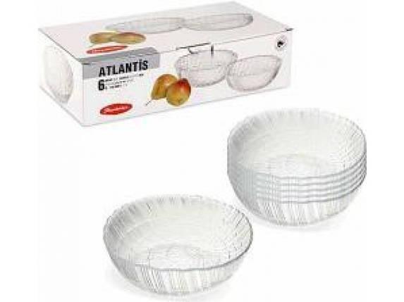 Набор салатников PASABAHCE Atlantis 6 шт (10250), фото 2